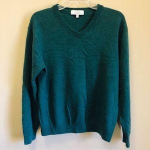 Turnbury Green Extra Fine Merino Wool Size Large